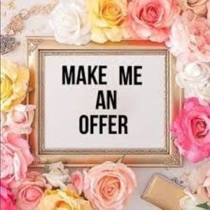 💕💕Make an offer Happy Poshing💕💕